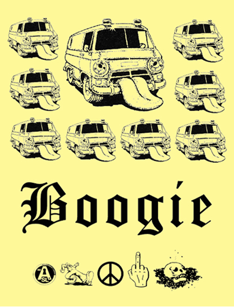 acid sweat lodge Boogie Poster