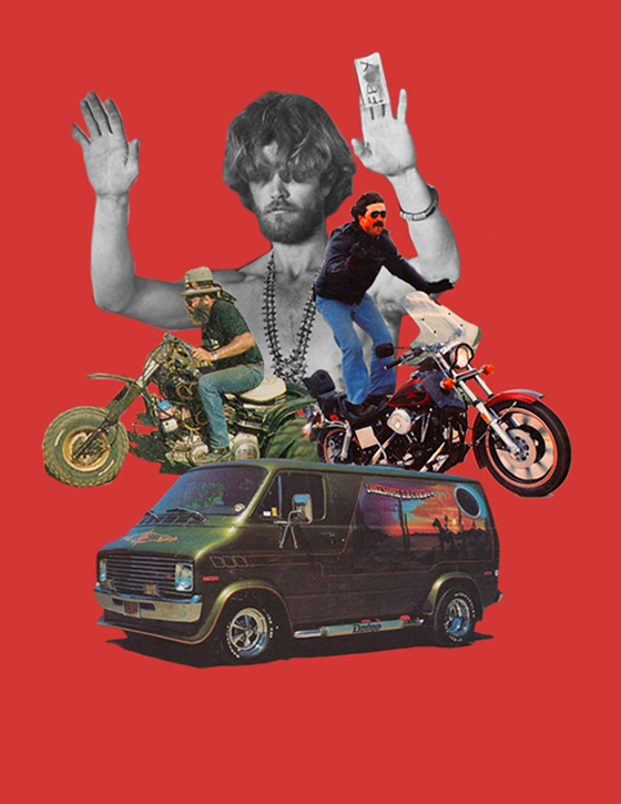 Acid Sweat Lodge - Freedom Ride Poster