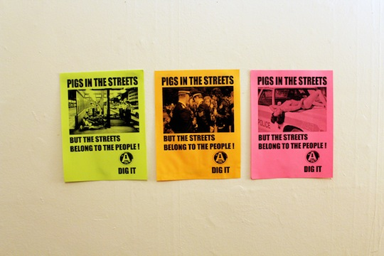 Acid Sweat Lodge - Pigs In The Street Poster