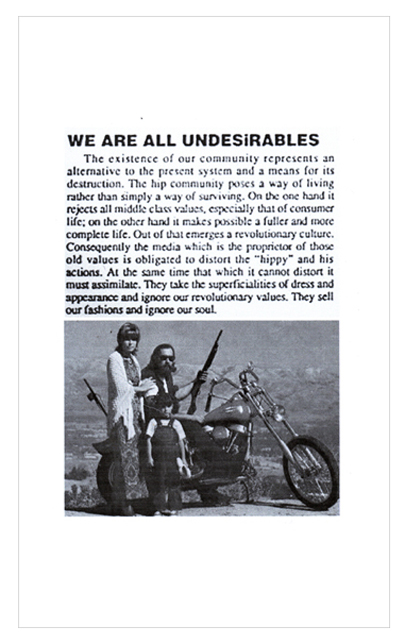 We Are Undesirables Poster